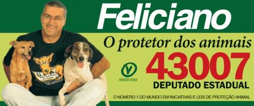 Feliciano Filho (PEN), o propositor do PL 87/2016 que estabelece a Segunda sem Carne